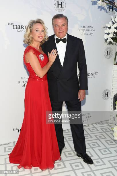 Princess Camilla of BourbonTwo Sicilies Duchess of Castro and Prince Carlo of BourbonTwo Sicilies Duke of Castro attend The Harmonist Gala Event...