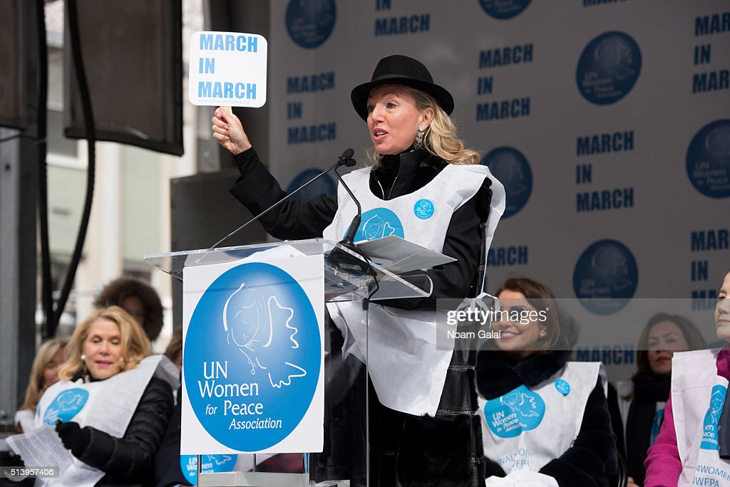Princess camilla of bourbon two sicilies speaks at march to end