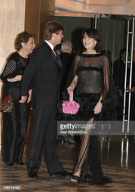 Princess Caroline and Prince Ernst August of Hanover in Monte Carlo Monaco on March 29th 2008