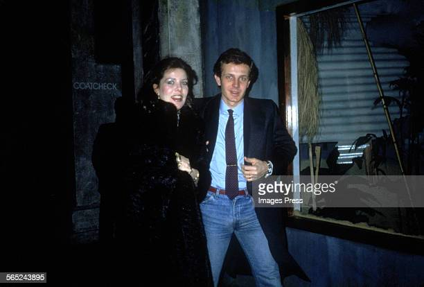 Princess Caroline and Stefano Casiraghi circa 1984 in New York City