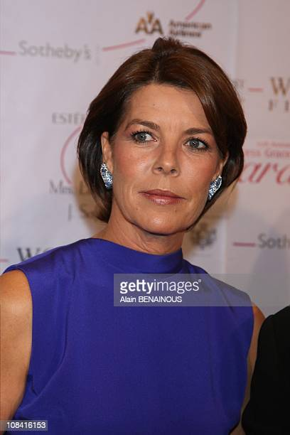 Princess Caroline in New York United States on October 25th 2007