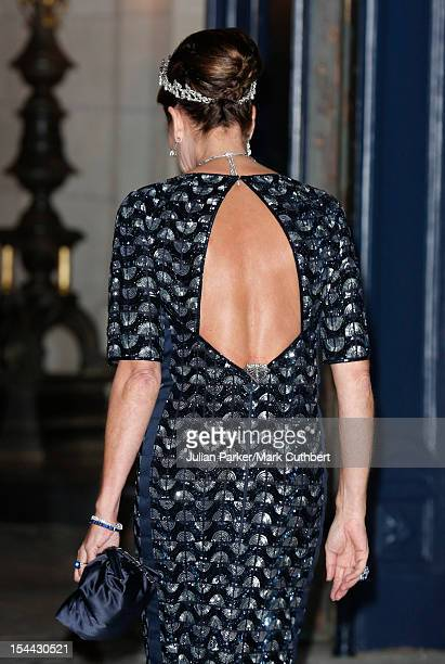 Princess Caroline of Hannover attends the Gala dinner for the wedding of Prince Guillaume Of Luxembourg and Stephanie de Lannoy at the Grandducal...
