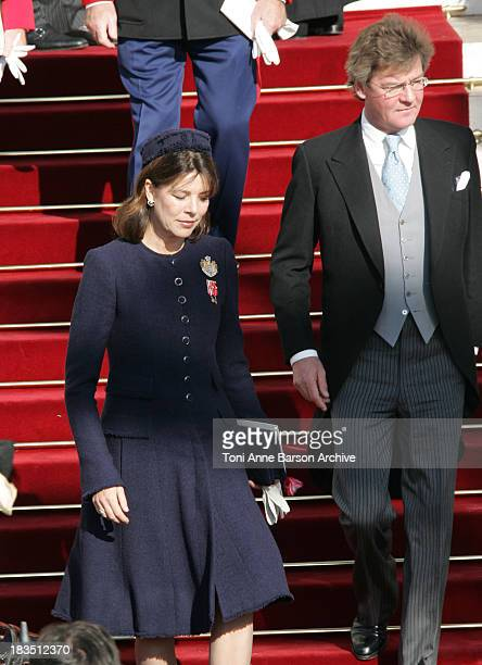 Princess Caroline of Hanover and Ernst August of Hanover