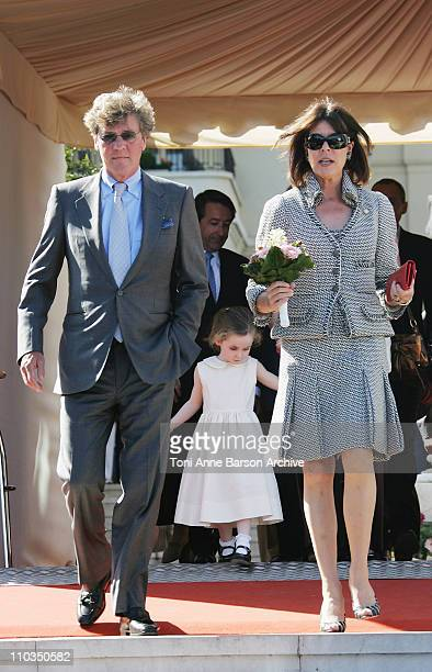 Princess Caroline of Hanover and ErnstAugust of Hanover attend The 2008 International Annual Bouquet Contest at the Monte Carlo Casino Terrasse May 3...