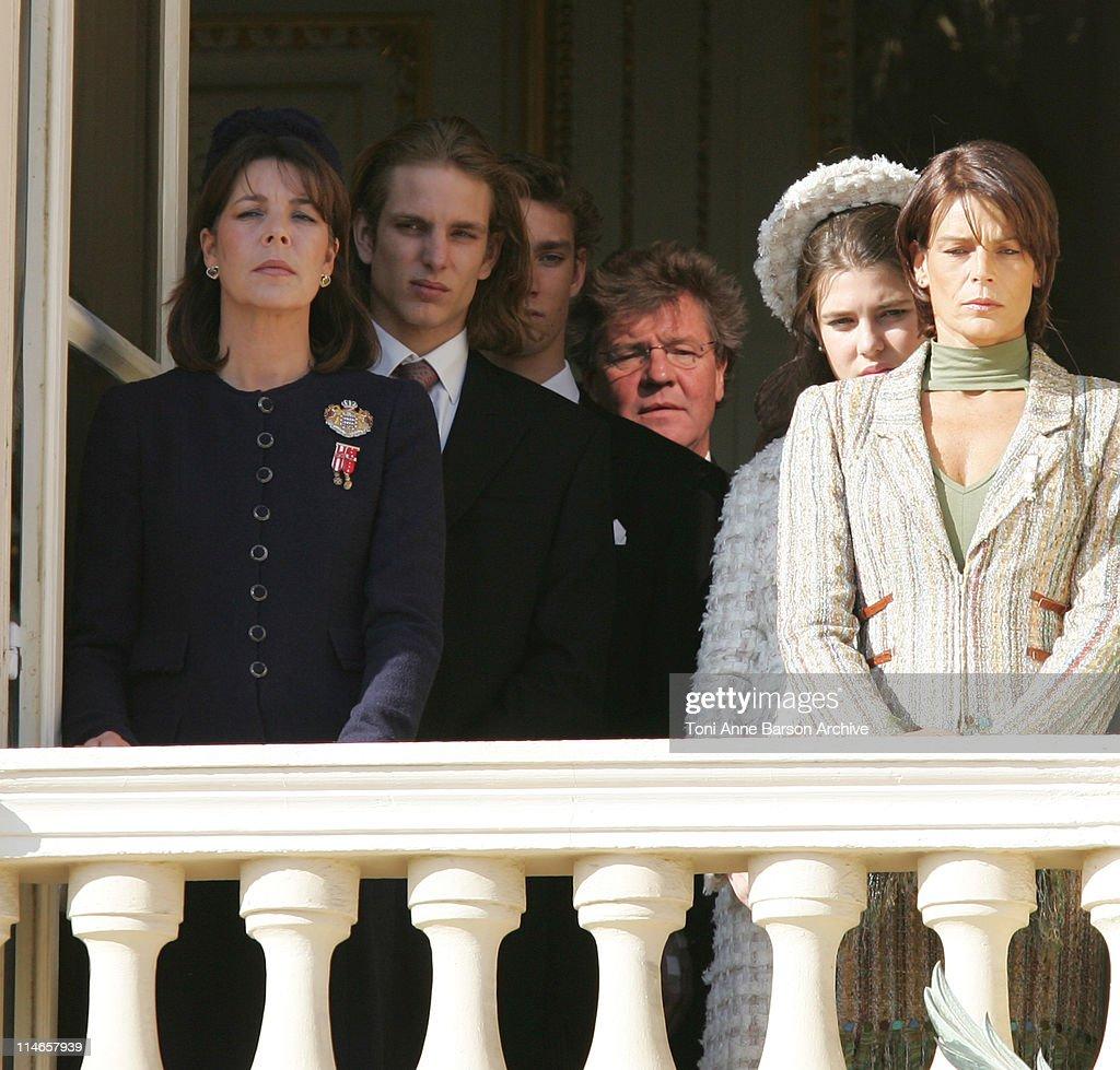 Princess Caroline of Hanover Andrea Casiraghi Pierre Casiraghi ErnstAugust of Hanover Charlotte Casiraghi Princess Stephanie of Monaco