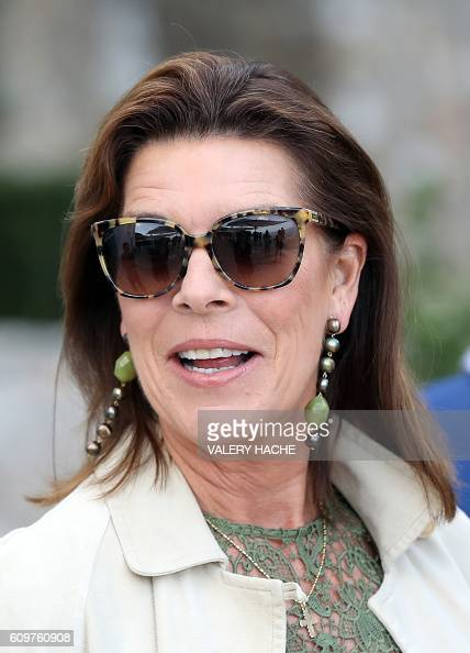 Princess Caroline of Hanover arrives to visit the 'Danse ...