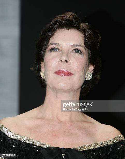 Princess Caroline of Hanover attends the 4th biennial Nijinsky Awards hosted by Princess Caroline and designer Karl Lagerfeld at the Monte Carlo...