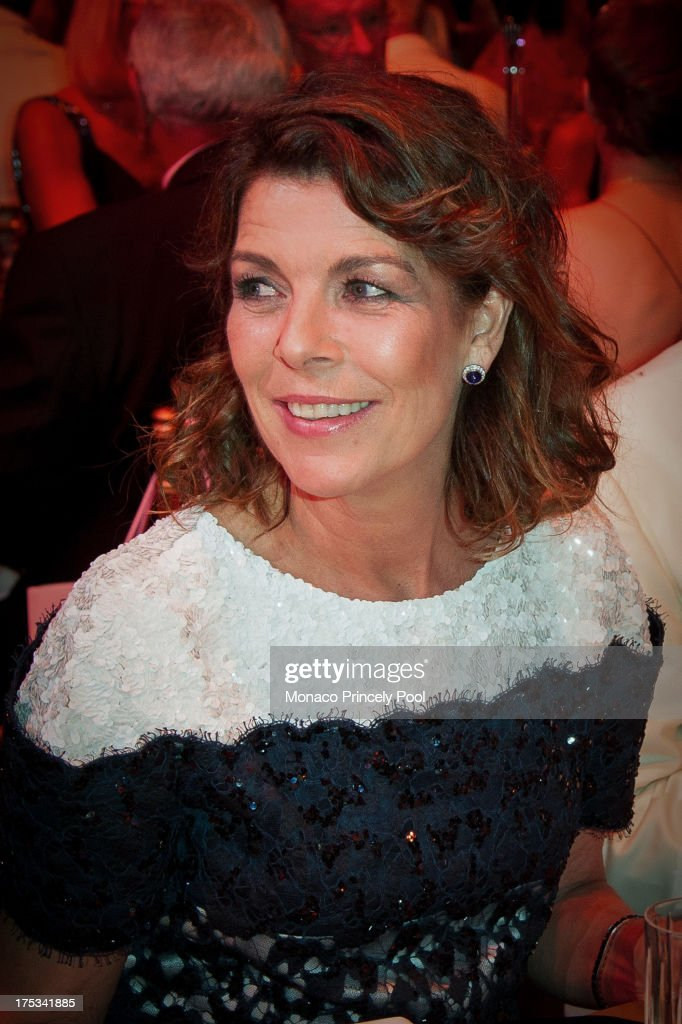 Princess Caroline of Hanover attends the 65th Monaco Red Cross Ball Gala at Sporting Monte-Carlo on August 2, 2013 in Monte-Carlo, Monaco.