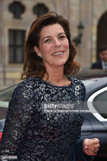 Princess Caroline of Hanover attends the AMADE Deutschland Charity dinner on June 14 2016 in Munich Germany