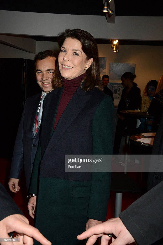 Princess Caroline of Hanover attends the Gucci Paris Masters 2013 - Day 3 at Paris Nord Villepinte on December 7, 2013 in Paris, France.
