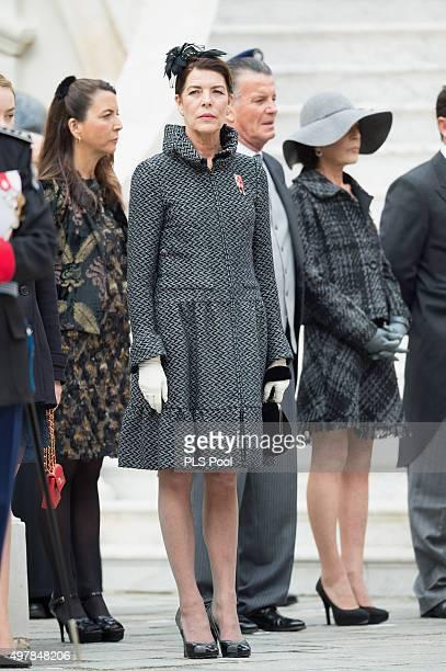 Princess Caroline of Hanover attends the Monaco National Day Celebrations on November 19 2015 in Monaco Monaco