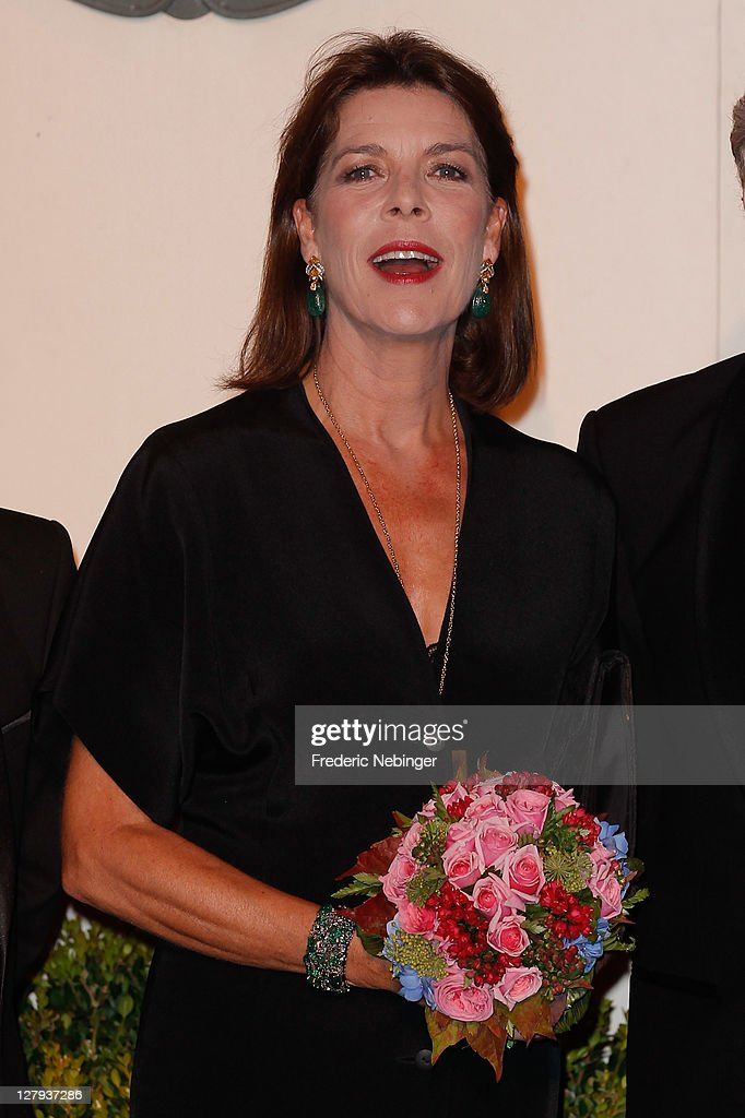 Princess Caroline of Hanover attends the Theatre Princesse Grace 30th Anniversary Celebration at Theatre Princesse Grace on October 3, 2011 in Monaco, Monaco.