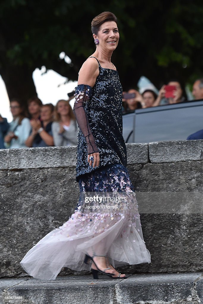 Princess Caroline of Hanover is seen on August 1, 2015 in ANGERA, Italy.