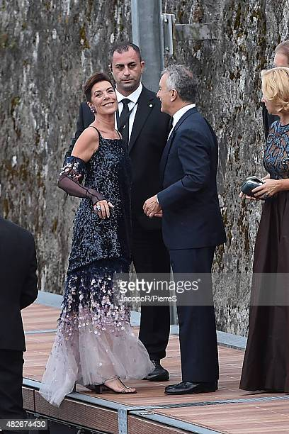 Princess Caroline of Hanover is seen on August 1 2015 in ANGERA Italy