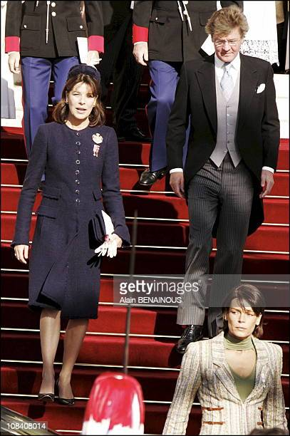 Princess Caroline of Hanover Prince Ernst August of Hanover in Monaco on November 19 2005