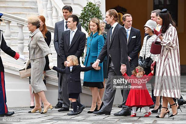 Princess Caroline of Hanover Sacha Casiraghi Louis Ducruet Princess Alexandra of HanoverAndrea Casiraghi India Casiraghi and Tatiana Santo Domingo...