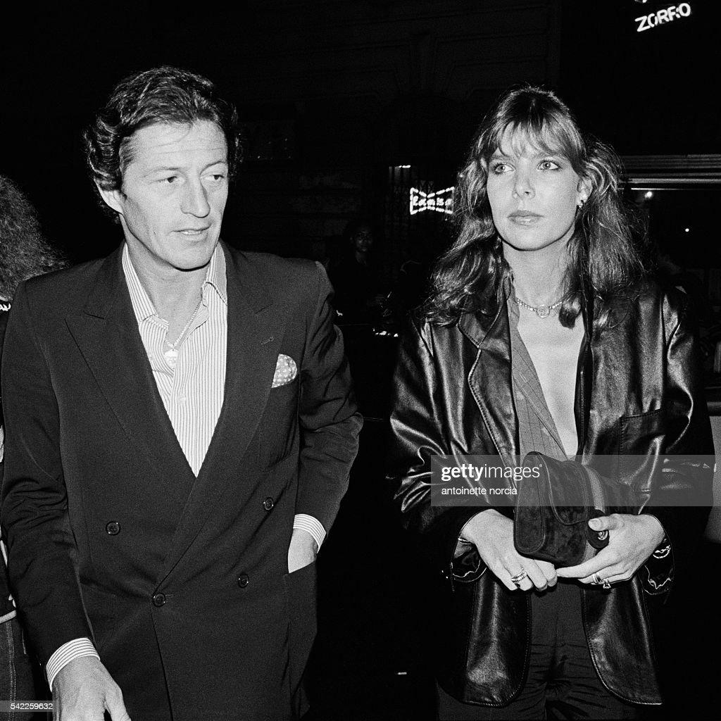 HSH Princess Caroline of Monaco and her husband Philippe Junot in New York