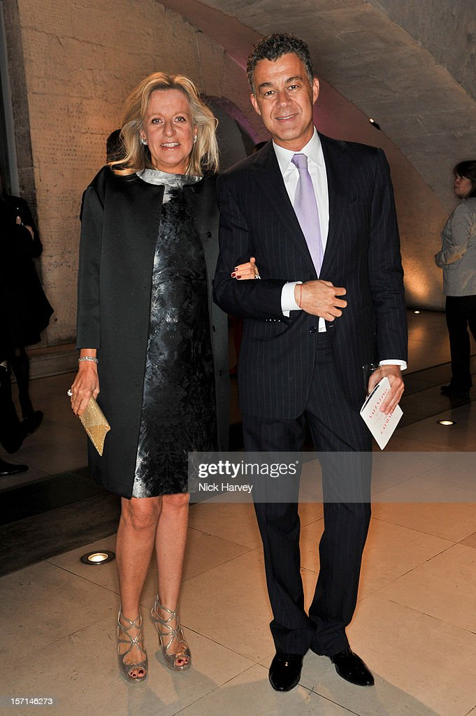 Princess Chantal of Hanover (L) and guest attend the VIP view of Valentino: Master of Couture at Embankment Gallery on November 28, 2012 in London, England.