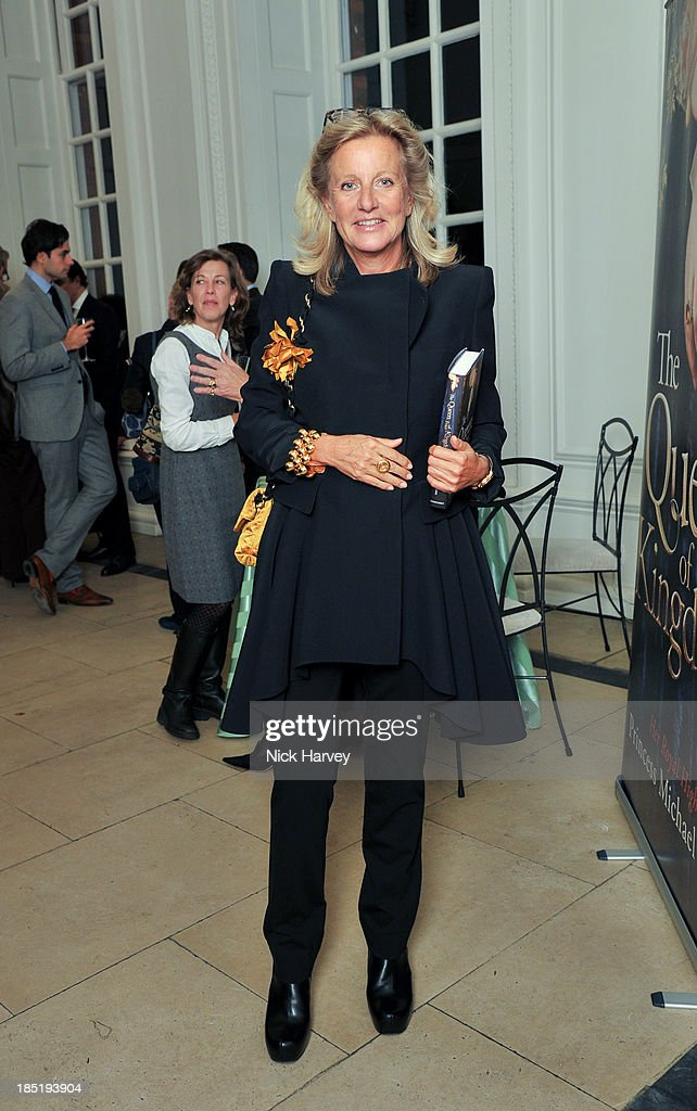 Princess Chantal of Hanover attends the book launch party for 'The Queen Of Four Kingdoms' by Princess Michael of Kent at The Orangery on October 17, 2013 in London, England.