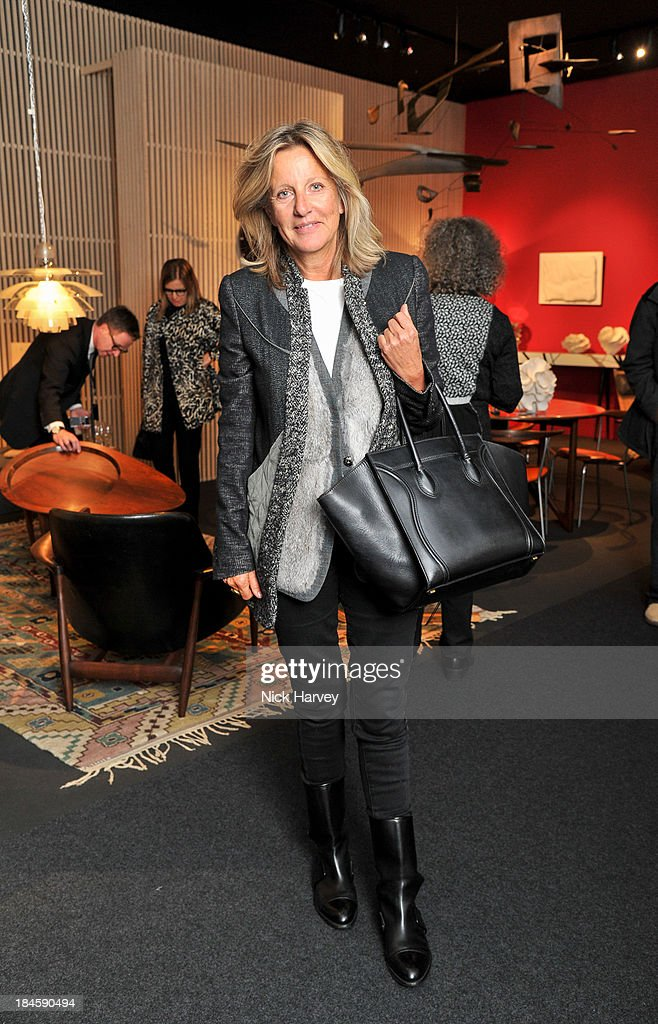 Princess Chantal of Hanover attends the collectors preview for PAD London at Berkeley Square Gardens on October 14, 2013 in London, England.