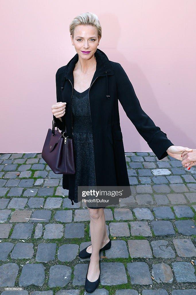 Louis Vuitton : Outside Arrivals - Paris Fashion Week Womenswear  Spring/Summer 2014
