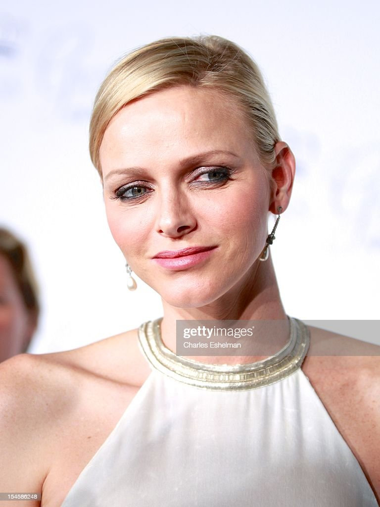 Princess Charlene of Monaco attends 30th Anniversary Princess Grace Awards Gala at Cipriani 42nd Street on October 22, 2012 in New York City.