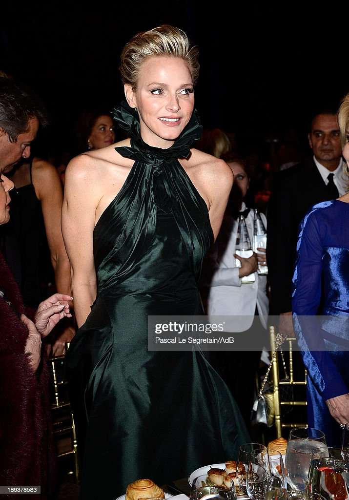 Princess Charlene of Monaco attends the 2013 Princess Grace Awards Gala at Cipriani 42nd Street on October 30, 2013 in New York City.