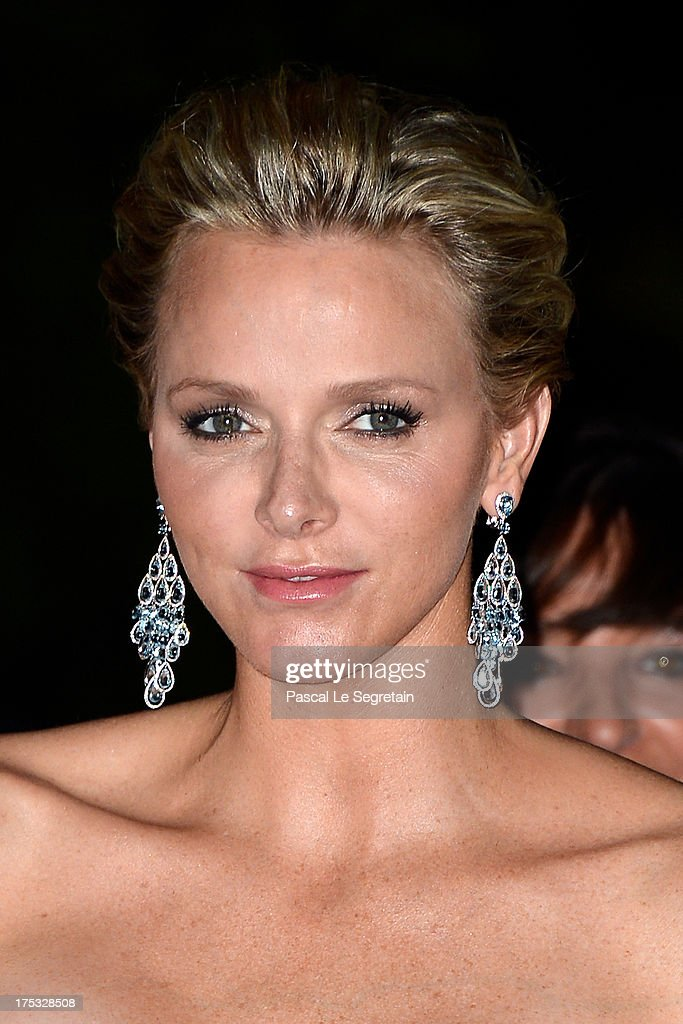 Princess <a gi-track='captionPersonalityLinkClicked' href=/galleries/search?phrase=Charlene+-+Princess+of+Monaco&family=editorial&specificpeople=726115 ng-click='$event.stopPropagation()'>Charlene</a> of Monaco attends the 65th Monaco Red Cross Ball Gala at Sporting Monte-Carlo on August 2, 2013 in Monte-Carlo, Monaco.