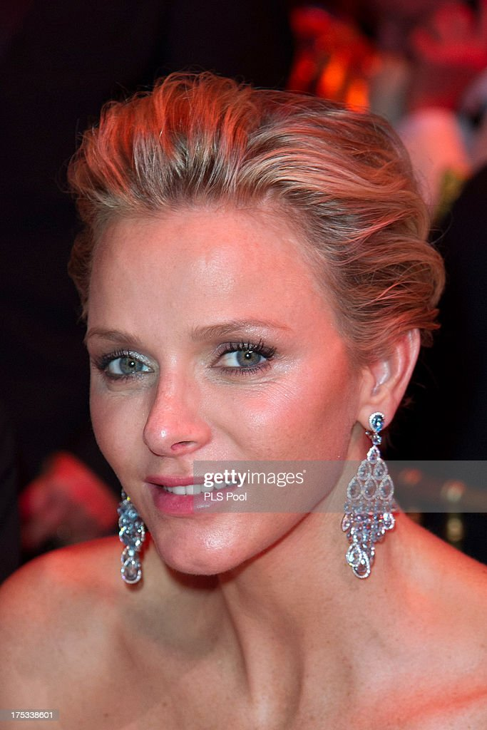 Princess Charlene of Monaco attends the 65th Monaco Red Cross Ball Gala at Sporting Monte-Carlo on August 2, 2013 in Monte-Carlo, Monaco.