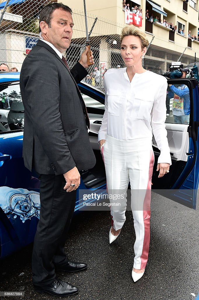 Princess <a gi-track='captionPersonalityLinkClicked' href=/galleries/search?phrase=Charlene+-+Princess+of+Monaco&family=editorial&specificpeople=726115 ng-click='$event.stopPropagation()'>Charlene</a> of Monaco attends the F1 Grand Prix of Monaco on May 29, 2016 in Monte-Carlo, Monaco.