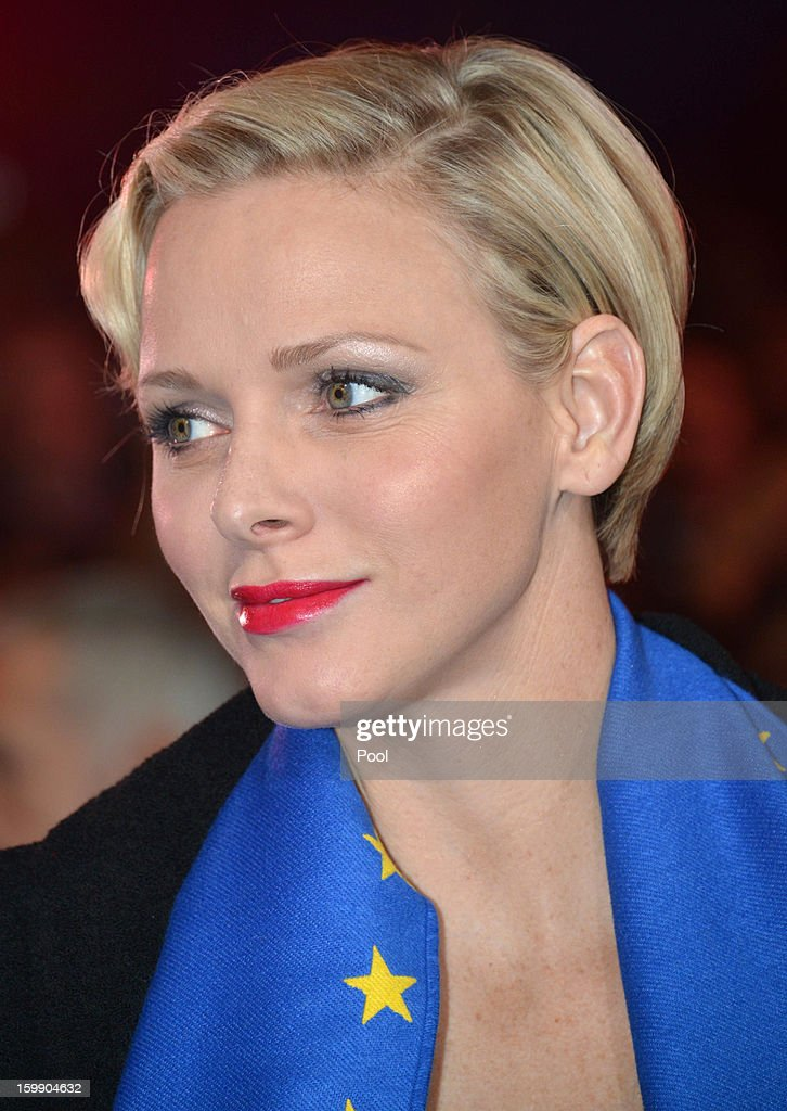 Princess Charlene of Monaco attends the Monte-Carlo 37th International Circus Festival Closing Ceremony on January 22, 2013 in Monte-Carlo, Monaco.