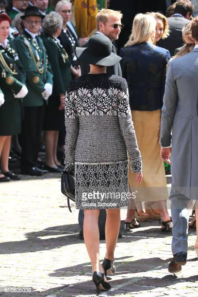 Princess Charlotte Casiraghi during the wedding of Prince Ernst August of Hanover jr Duke of BrunswickLueneburg and his fiancee Ekaterina Malysheva...