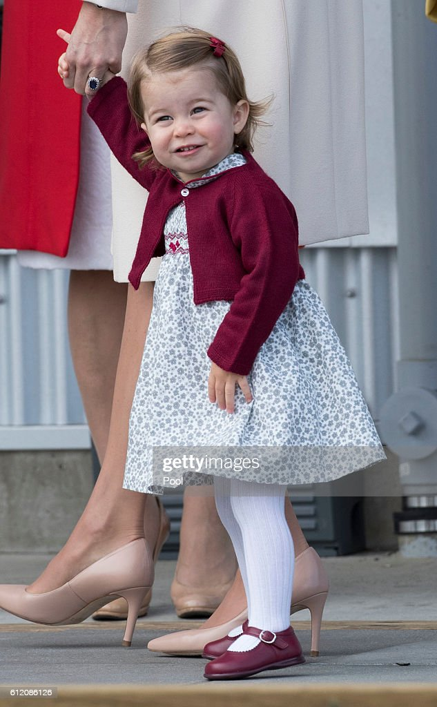 2016 Royal Tour To Canada Of The Duke And Duchess Of Cambridge - Victoria, British Columbia