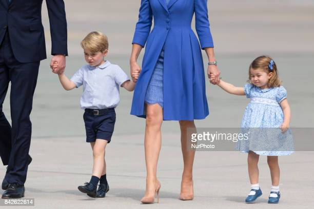 Princess Charlottet and Prince George in Warsaw Poland on 19 July 2017