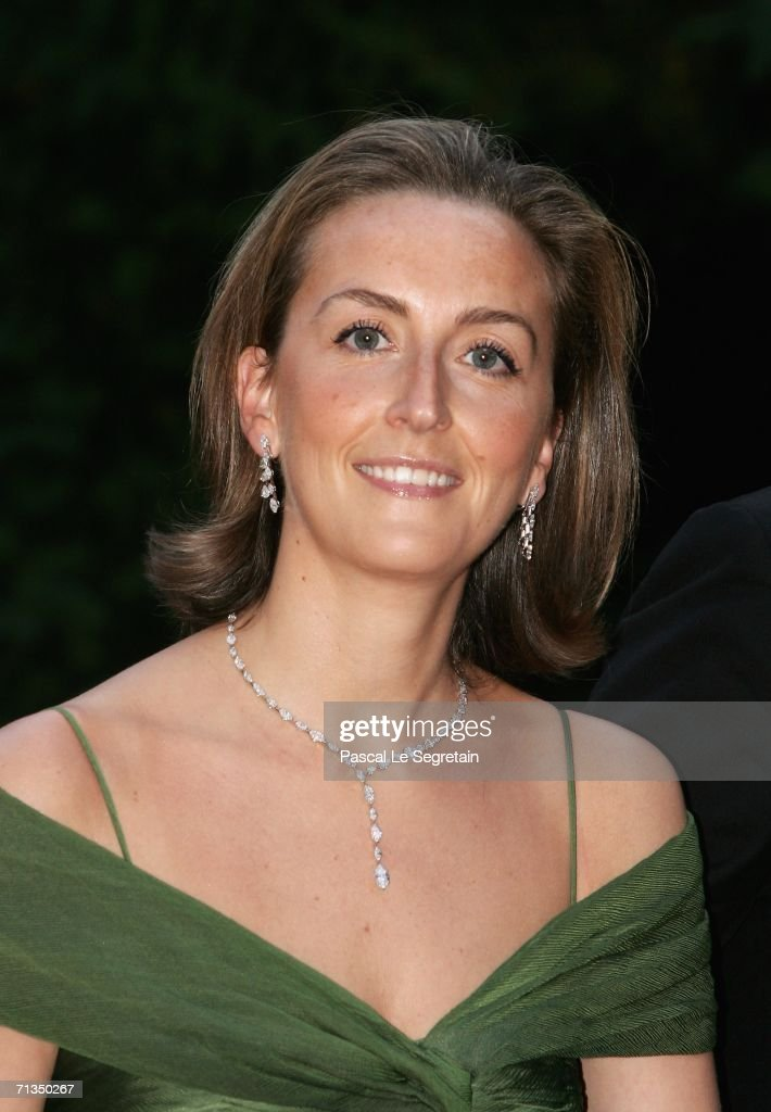 <a gi-track='captionPersonalityLinkClicked' href=/galleries/search?phrase=Princess+Claire+of+Belgium&family=editorial&specificpeople=215265 ng-click='$event.stopPropagation()'>Princess Claire of Belgium</a> poses as she arrives to attend a royal dinner that is part of the Grand Duke Henri of Luxembourg's silver wedding aniversary celebrations at The Berg Castle on July 1, 2006 in Luxembourg.