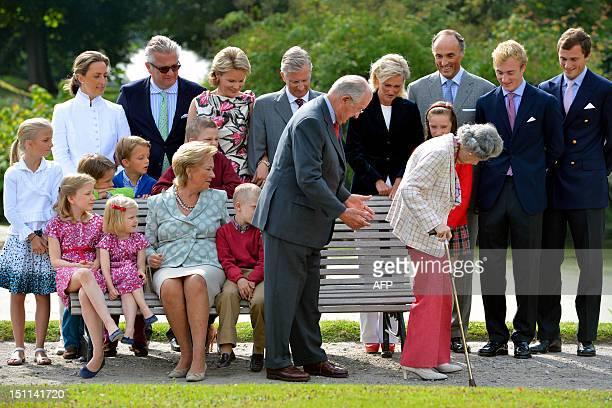 Princess Claire of Belgium Prince Laurent of Belgium Princess Mathilde of Belgium Crown Prince Philippe of Belgium Princess Astrid of Belgium Prince...