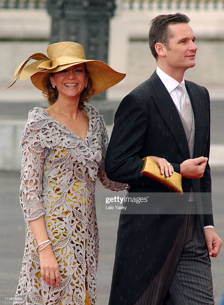 Princess Crisitina of Spain and husband Inaki Urdangarin