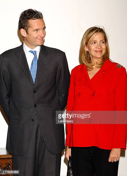 Princess Cristina of Spain and husband Inaki Urdangarin