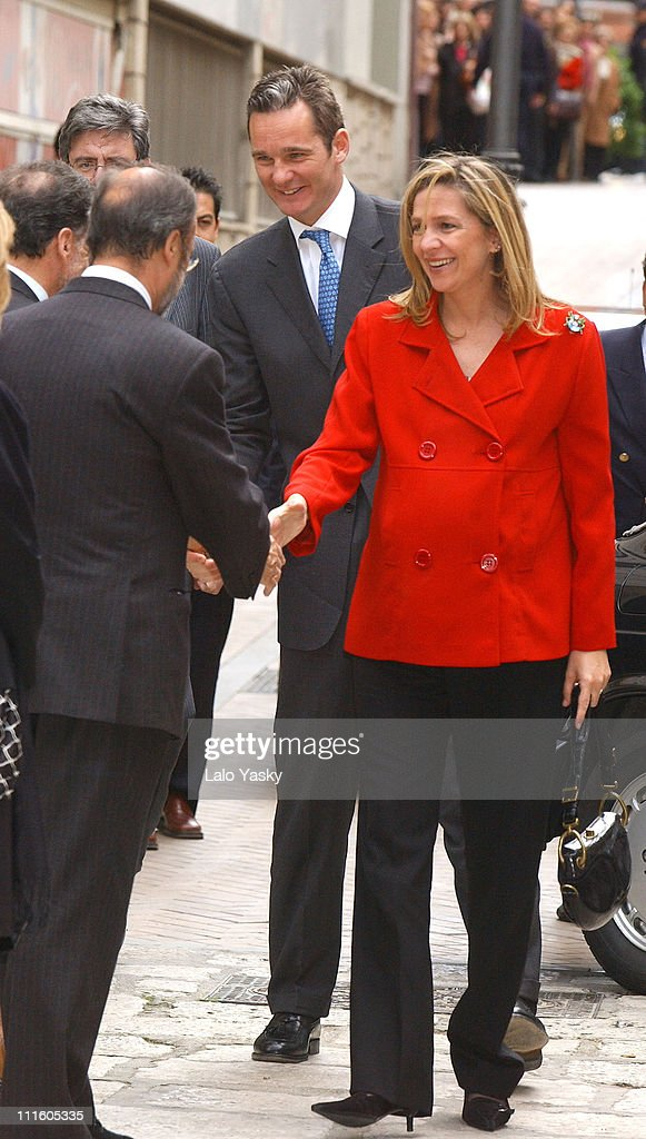 Princess Cristina of Spain Presides Over the Opening of Miguel de Cervantes
