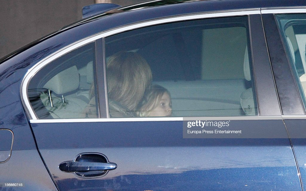<a gi-track='captionPersonalityLinkClicked' href=/galleries/search?phrase=Princess+Cristina+of+Spain&family=editorial&specificpeople=160232 ng-click='$event.stopPropagation()'>Princess Cristina of Spain</a> (L) and Irene Urdangarin are seen on November 22, 2012 in Barcelona, Spain.