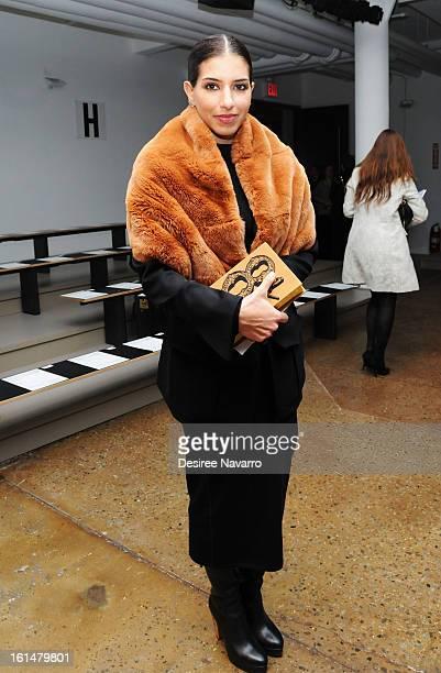 Princess Deena Abdulaziz attends Ohne Titel during Fall 2013 MercedesBenz Fashion Week at Milk Studios on February 11 2013 in New York City