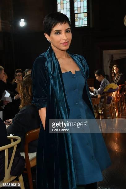Princess Deena Abdulaziz attends the Gabriela Hearst fashion show during New York Fashion Week at High Line Hotel The Refectory on February 14 2017...