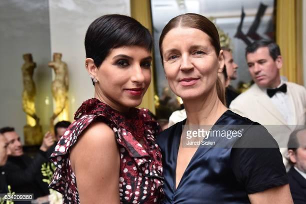 Princess Deena Aljuhani Abdulaziz and Karla otto attend Out Of Order BULGARI Celebrate OOO's 5th Anniversary on February 7 2017 in New York City