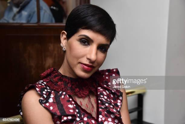 Princess Deena Aljuhani Abdulaziz attends Out Of Order BULGARI Celebrate OOO's 5th Anniversary on February 7 2017 in New York City