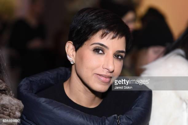 Princess Deena Aljuhani Abdulaziz attends the Adam Selman show during New York Fashion Week at Skylight Clarkson Sq on February 9 2017 in New York...