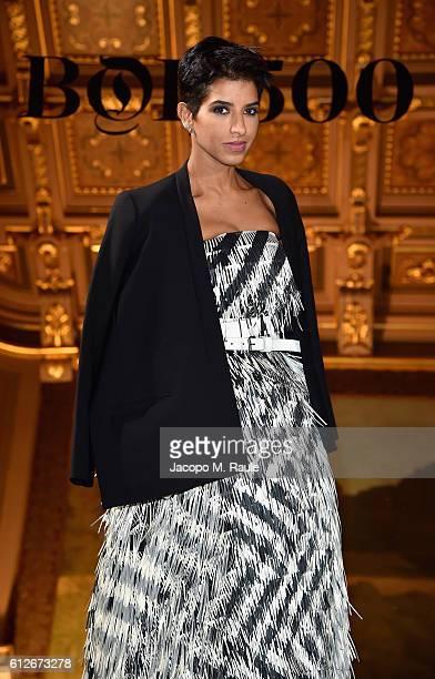 Princess Deena Aljuhani Abdulaziz attends the #BoF500 Cocktail Event as part of the Paris Fashion Week Womenswear Spring/Summer 2017 at Hotel de...
