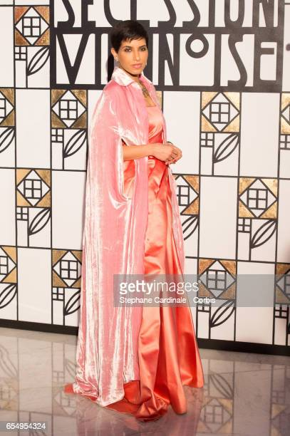 Princess Deena Aljuhani Abdulaziz attends the Rose Ball 2017 To Benefit The Princess Grace Foundation at Sporting MonteCarlo on March 18 2017 in...