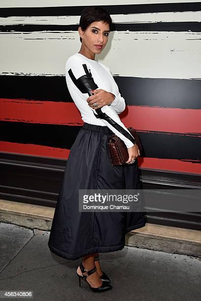 Princess Deena Aljuhani Abdulaziz attends the Sonia Rykiel show as part of the Paris Fashion Week Womenswear Spring/Summer 2015 on September 29 2014...
