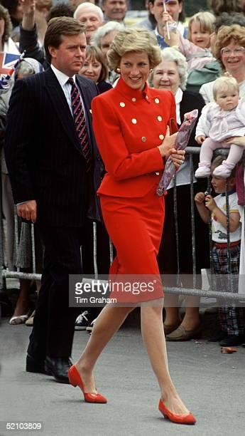 Princess Diana And Her Bodyguard Ken Wharfe Derbyshire