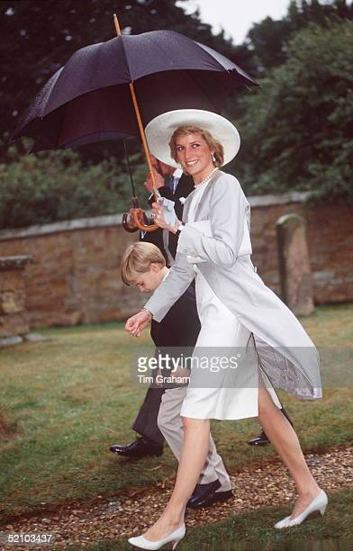 Princess Diana At The Althorp Wedding